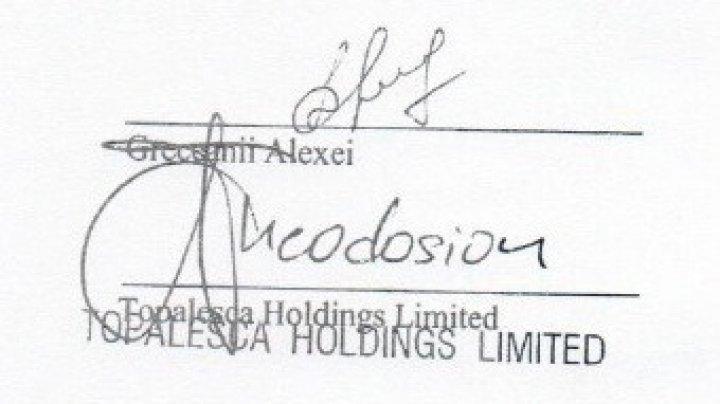 (DOC) Dorin Chirtoacă publică contractele de credit de la BEM ale familiei Greceanîi: Doamna Greceanii, semnătura soţului o recunoaşteţi?