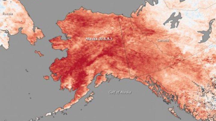 Avertisment fără precedent al meteorologilor din Alaska: Sunt așteptate temperaturi record