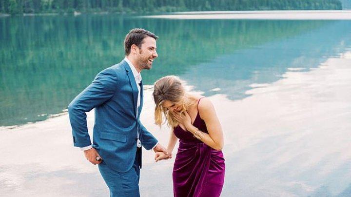 CERERE INEDITĂ în căsătorie. Tânăra nu s-a aşteptat la aşa ceva. Ce surpriză i-a pregătit iubitul (FOTO)