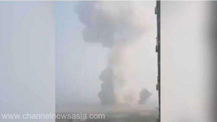 Explozie puternică la o uzină de gaz în China. Doi oameni au murit şi 12 sunt daţi dispăruţi