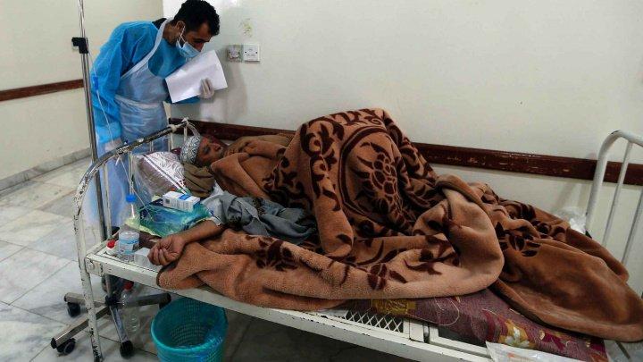Peste 460.000 de cazuri suspecte de holeră au fost înregistrate în Yemen