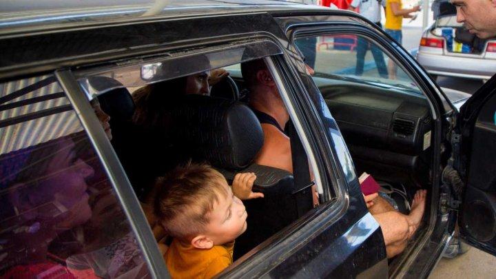 Situaţia la frontieră, în ultimele 24 de ore: Patru cetățeni străini au depășit termenul de ședere pe teritoriul Moldovei