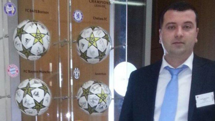Preşedintele Federaţiei Moldoveneşti de Fotbal s-a întâlnit la Odesa cu omologul său ucrainean Andrii Pavelko