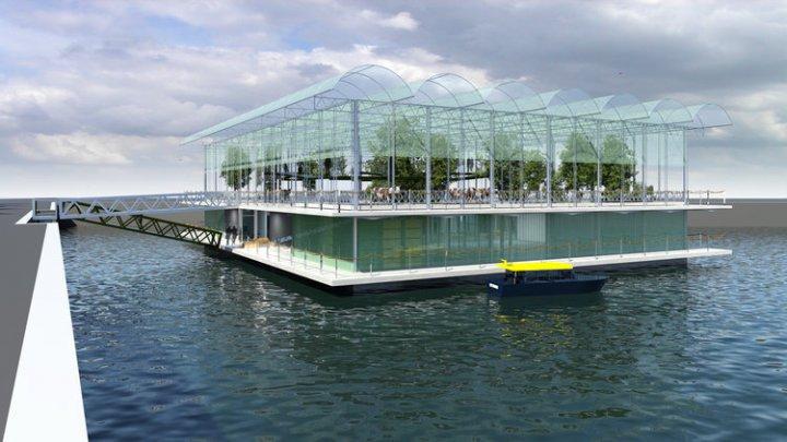 Cum arată prima fermă plutitoare din lume (VIDEO)