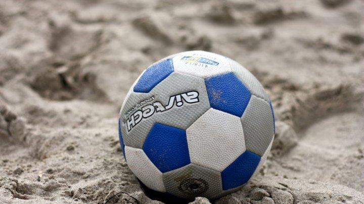 Al doilea eşec consecutiv. Echipa naţională de fotbal pe plajă a Republicii Moldova a pierdut partida cu Franţa