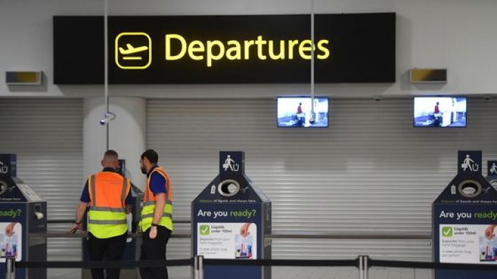 O suedeza, reținută pe un aeroport din Londra, pentru TERORISM