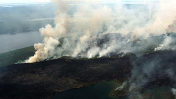 Incendiile fac prăpăd în zona arctică a Terrei. Emisiile de CO2 au devenit uriașe