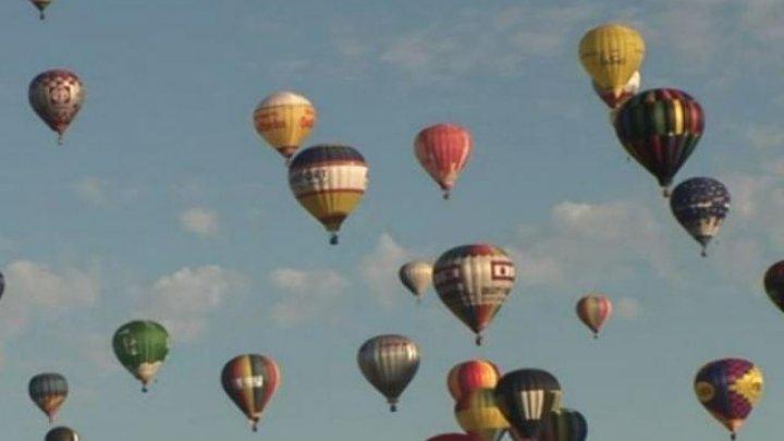 FESTIVAL INEDIT ÎN FRANȚA. 456 de baloane cu aer cald au fost ridicate de la sol