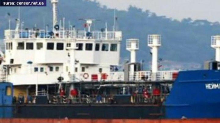 Incident maritim în Marea Neagră. Ucraina a sechestrat un petroiler rus