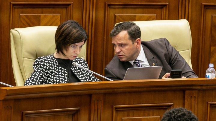 Subalternul Maiei Sandu, Andrei Năstase şi-a dat DEMISIA