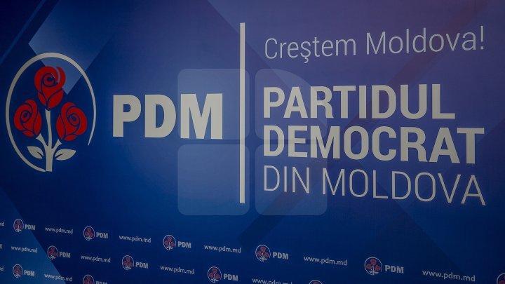 Conducerea PDM își consultă membrii privind strategia de acțiune a Partidului Democrat în noile condiții politice