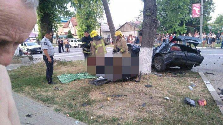 Accident GRAV la Ungheni. O persoană a murit pe loc (FOTO)