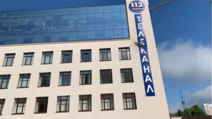 Clădirea unui post de televiziune din Ucraina, atacată cu lansatoare de grenade
