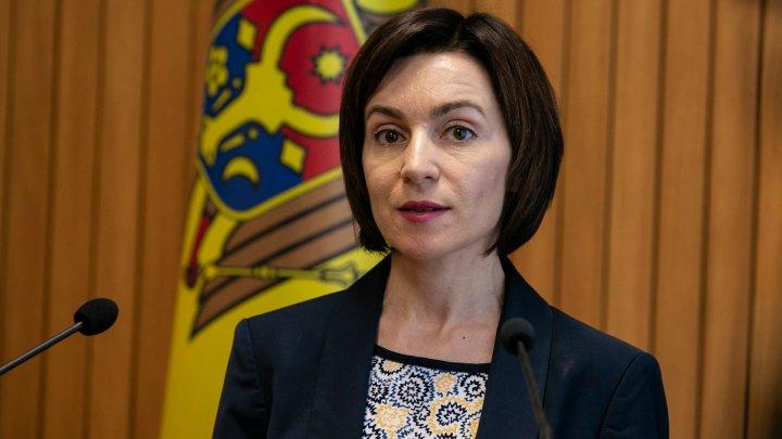 Maia Sandu crede că vor avea loc alegeri anticipate