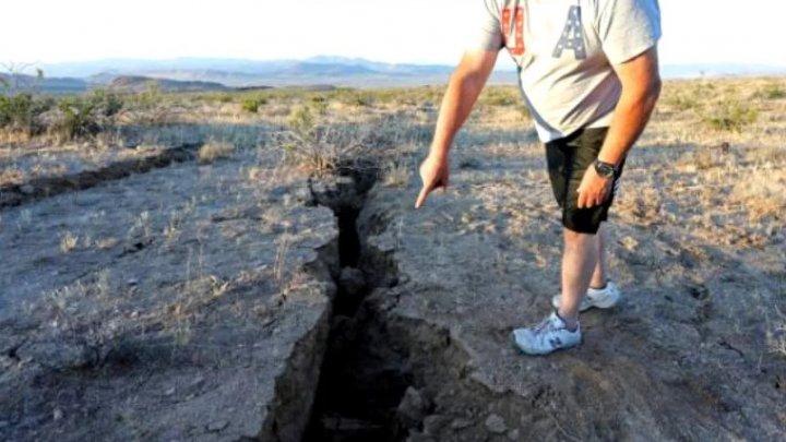Cutremurul de 7,1 din California a lăsat în scoarța terestră o fisură vizibilă din spațiu