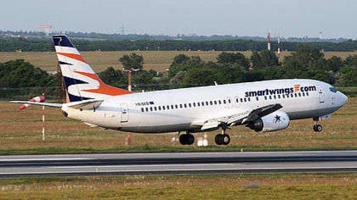 Motivul pentru care un avion al liniilor aeriene cehe Smartwings a făcut o aterizare de urgenţă
