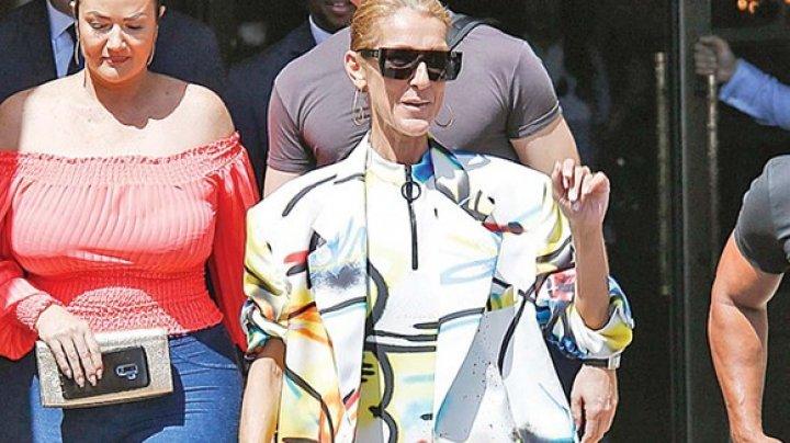 Céline Dion, ţinută îndrăzneaţă în Paris. Cum arată cântăreaţa la 51 de ani (FOTO)