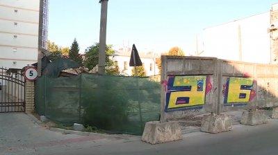 O clădire cu statut protejat din centrul Capitalei, demolată peste noapte