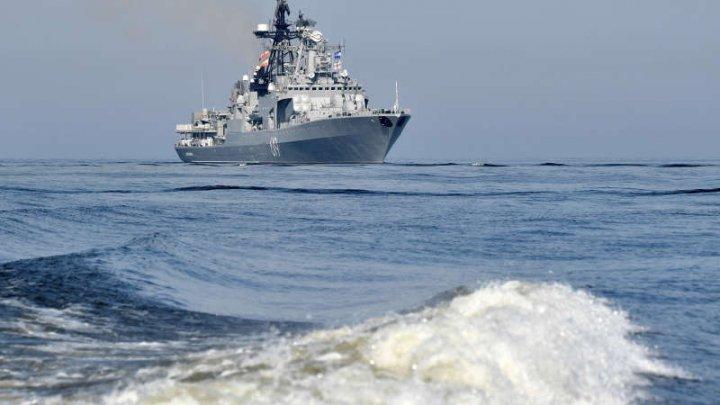Marina rusă a început joi exerciţii navale de mare amploare în Marea Baltică