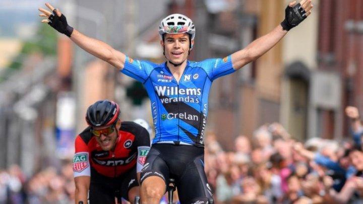 Wout van Aert a fost externat după accidentul din Turul Franţei