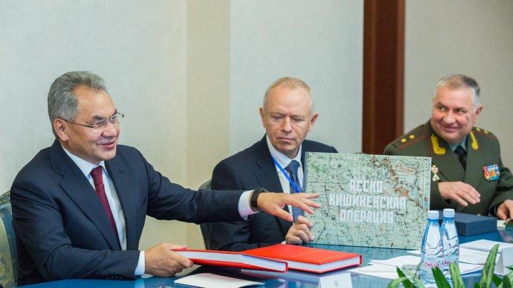 Șoigu, prima declarație făcută la Chișinău: Rusia vrea să inițieze procesul de distrugere a munițiilor stocate lângă satul Cobasna