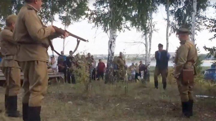 Sub ochii copiilor! Trădătorii Maicii Rusii, executați în public