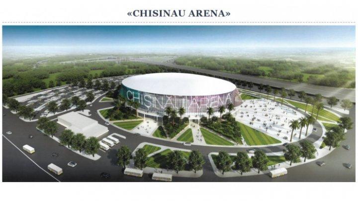 """DECIZIE: Construcţia complexului """"Arena Naţională"""" va fi gestionată de Ministerul Economiei"""