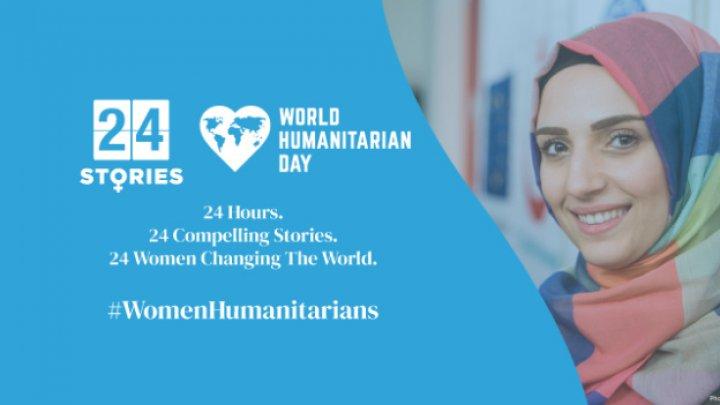 Astăzi este marcată Ziua mondială pentru asistenţă umanitară
