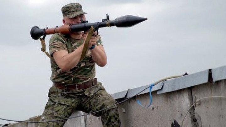 Sediul unei companii din Kiev, atacat cu un lansator de grenade: E un atentat terorist
