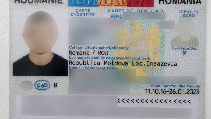 A fost deconspirat. Un tânăr moldovean se legitima în Germania cu buletin românesc fals