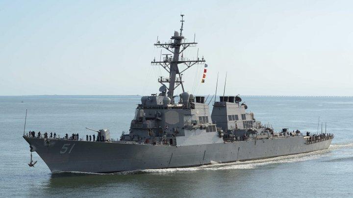O navă militară chineză a intrat în coliziune cu un vas comercial taiwanez