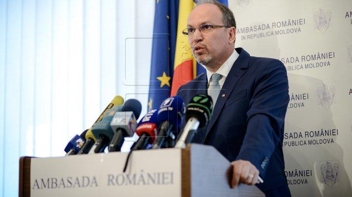 Ambasadorul României la Chişinău: Liderii politici trebuie să identifice rapid un consens