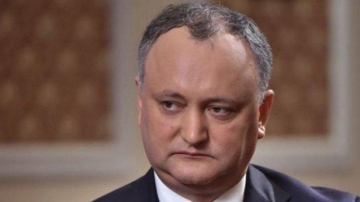 IGOR DODON: Anul 2020 va fi anul Rusiei în Republica Moldova
