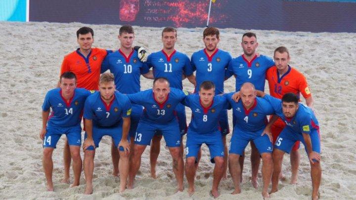 Echipa națională de fotbal pe plajă a Republicii Moldova a ratat incredibil calificarea în finală