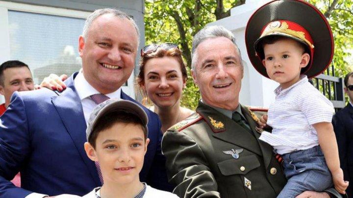Victor Gaiciuc, numit consilier în domeniul apărării al şefului statului. Care sunt legăturile de rudenie dintre Gaiciuc şi Dodon