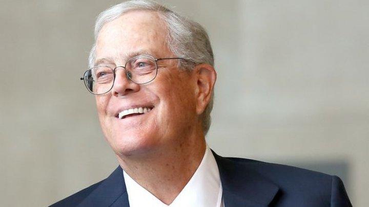 Miliardarul David Koch a murit. A fost unul dintre cei mai bogați oameni din lume