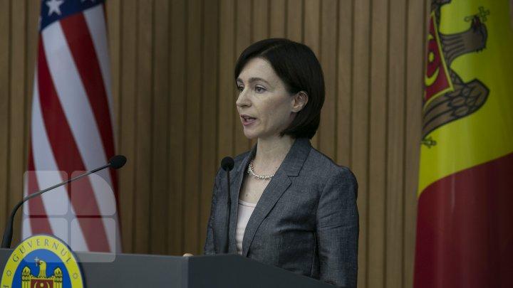 Maia Sandu, nemulţumită de concursul pentru funcţia de Procuror General. MESAJUL premierului