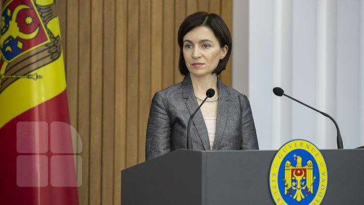 Sandu se detaşează de votul deputaţilor PAS pentru numirea Domnicăi Manole şi a lui Vladimir Ţurcan în funcţia de judecători la CC