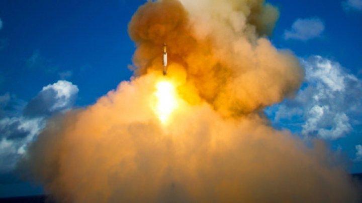 Coreea de Nord a lansat două proiectile neidentificate, probabil rachete balistice cu rază scurtă de acţiune