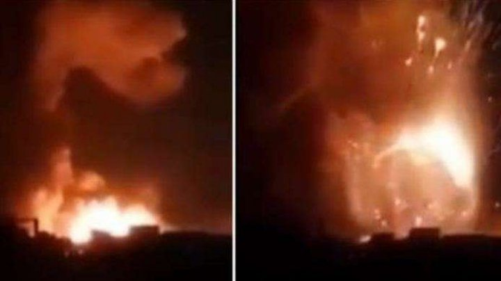 Aviaţia israeliană a lansat lovituri în Siria pentru a împiedica un atac al dronelor iraniene