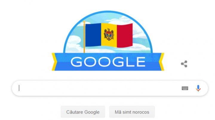 Google felicită Republica Moldova cu ocazia Zilei Independenței