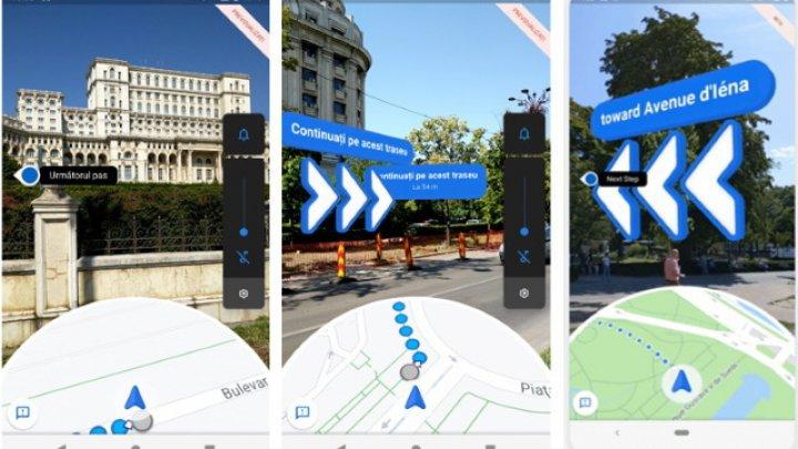 Google Maps primeşte Live View. O nouă modalitate de a vedea indicaţii vizuale pe telefon