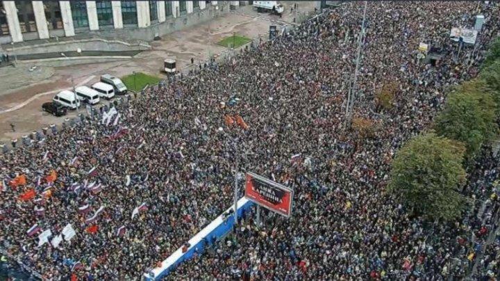 Proteste la Moscova: Duma de Stat anunţă o reuniune extraordinară