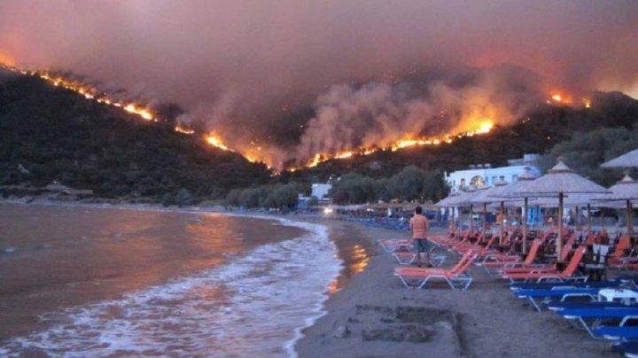 Atenționare de călătorie în Grecia. Zonele unde există risc ridicat de incendii de vegetație