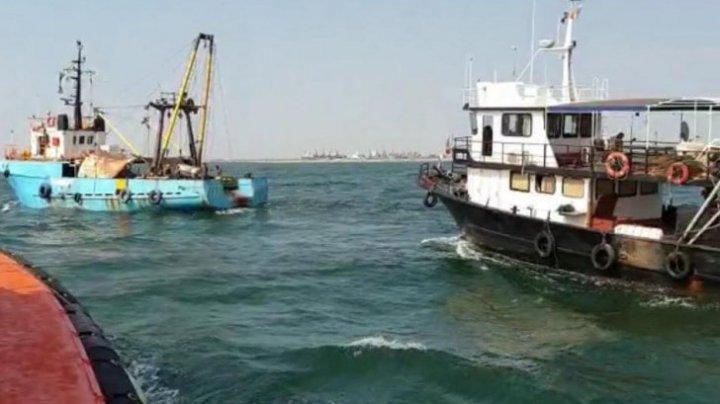 Alertă pe Marea Neagră! Pescador, în pericol să se scufunde