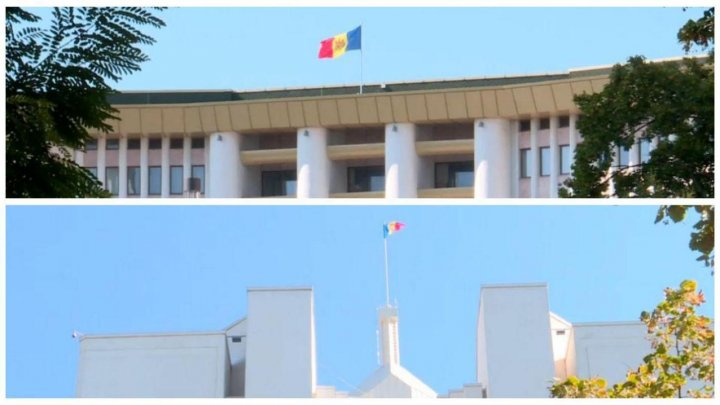 Preşedinţia şi Parlamentul au ignorat ziua de doliu şi nu au coborât drapelele în bernă