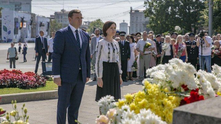 Maia Sandu: Republica Moldova nu poate fi independentă când are o armată străină pe teritoriul ei