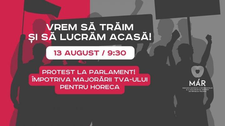 Se anunță protest la Parlament: Vrem să trăim și să lucrăm acasă
