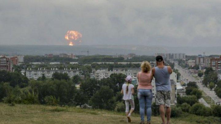 Două staţii pentru măsurarea radioactivităţii au fost oprite după explozia rachetei nucleare din Rusia