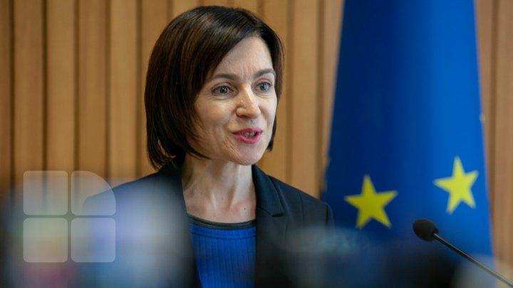 Maia Sandu: Fiți mândri că vorbiți limba română